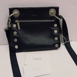 HAMMITT LEATHER CROSSBODY BAG